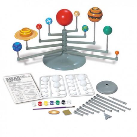 DIY Model sluneční soustavy