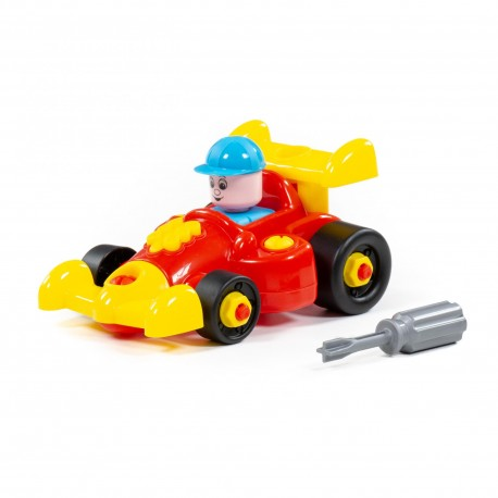 Polesie 77127 Auto Racing car 22 dílů