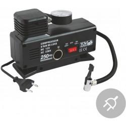 Elektrický kompresor DELUXE Aircom AC250 230V / 12V