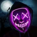 Děsivá svítící maska
