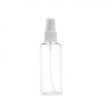 Plastová lahvička na kosmetiku s rzprašovačem 100 ml