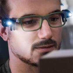 Přídavné světlo na brýle 2 ks