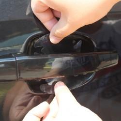 4 kusy ochranných nálepek pod kliku auta