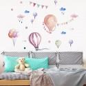Samolepky na zeď - Balóny