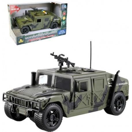 Auto obrněné vojenské vozidlo na setrvačník na baterie CZ Světlo Zvuk