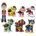 Patrola s figurkami a odznáčky