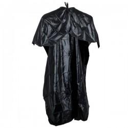 Kadeřnická pelerýna 138x87cm černá