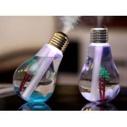 LED zvlhčovač vzduchu v podobě žárovky