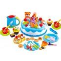 Dětský plastový narozeninový dort 80 dílů