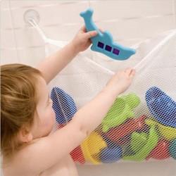 Síťka - organizér do koupelny na hračky 45 * 35CM