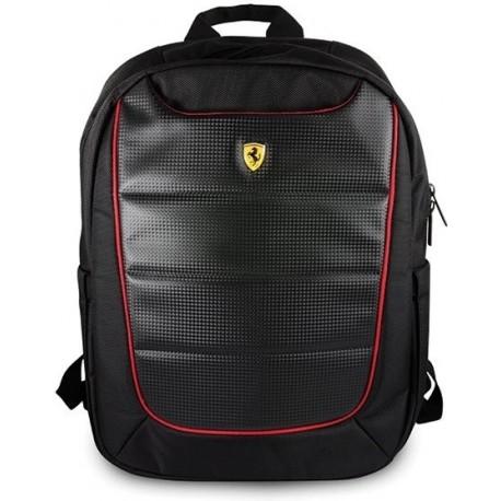 Ferrari batoh na notebook a tablet FEBP15BK Black/Red