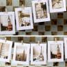 Závěsné papírové fotorámečky