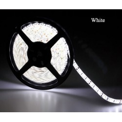 LED pásek 5m sada, studená + zdroj