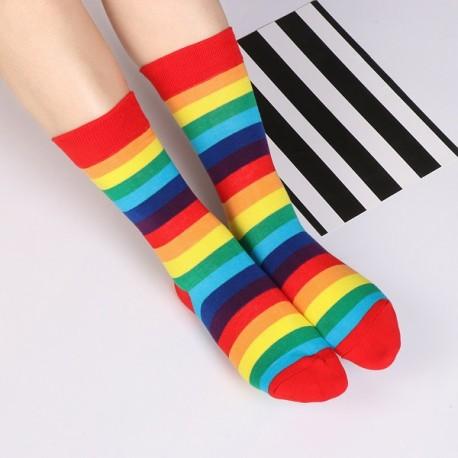 Duhové ponožky