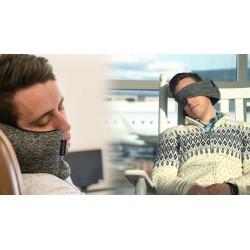 Cestovní polštář s maskou na oči