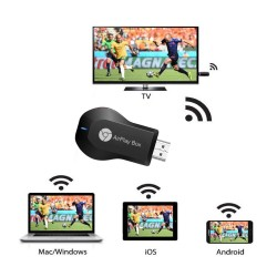 FOYU M4 Plus Bezdrátový WIFI HDMI adaptér 4k zrcadlení obrazovky z mobilu