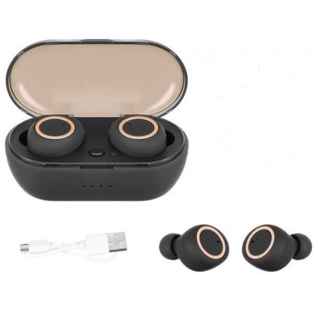 Bezdrátová sluchátka TWS-02 Mini Dobíjecí box