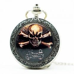 SHUHANG Kapesní hodinky lebka