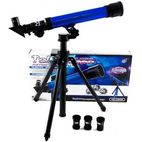 Dětský teleskop modrý 50mm