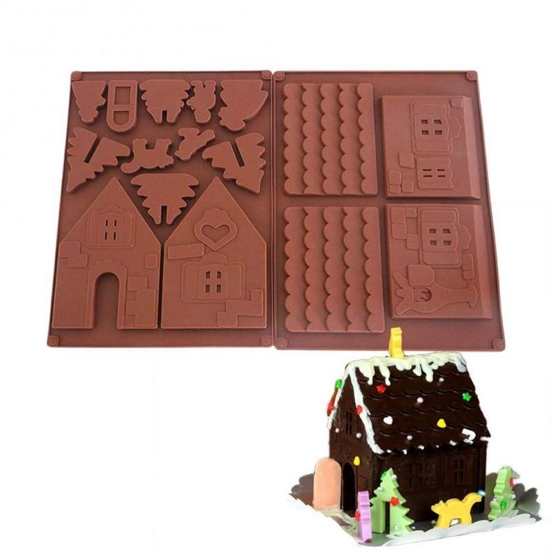 Forma na čokoládu - chaloupka