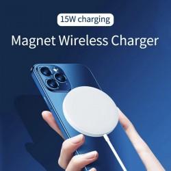 Magnetic 15W Qi Bezdrátová nabíječka pro iPhone USB-C
