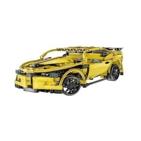 Cadfi Sportscar RC Stavebnice na dálkové ovládání C51008  419 dílků
