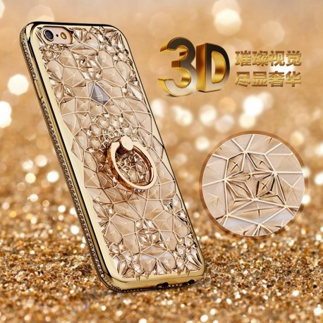 Glitter Crystal 3D Kryt na iPhone 6/6S 7/8
