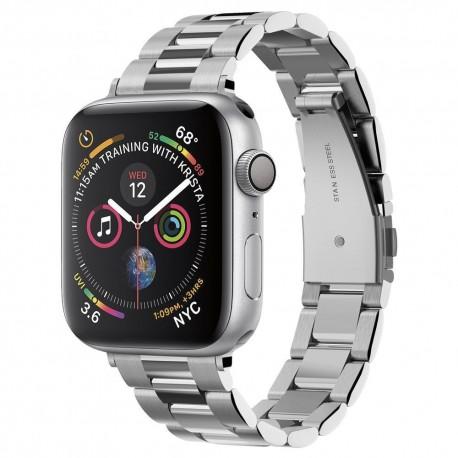 Spigen elegantní ocelový řemínek pro Apple Watch 1 - 6 serie