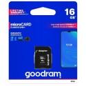 Paměťová karta Goodram Micro SDHC 16GB
