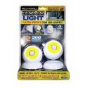 Otočné svítidlo LED COB 360 2 ks