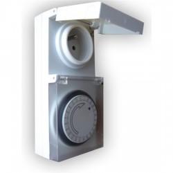 Solight Venkovní časový spínač DT31, 24 h., 1 režim