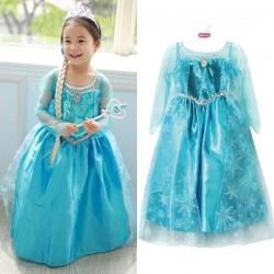Elsa šaty Frozen Ledové království 140 cm