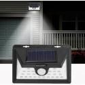 Solární venkovní 34 LED SMD osvětlení s pohybovým senzorem