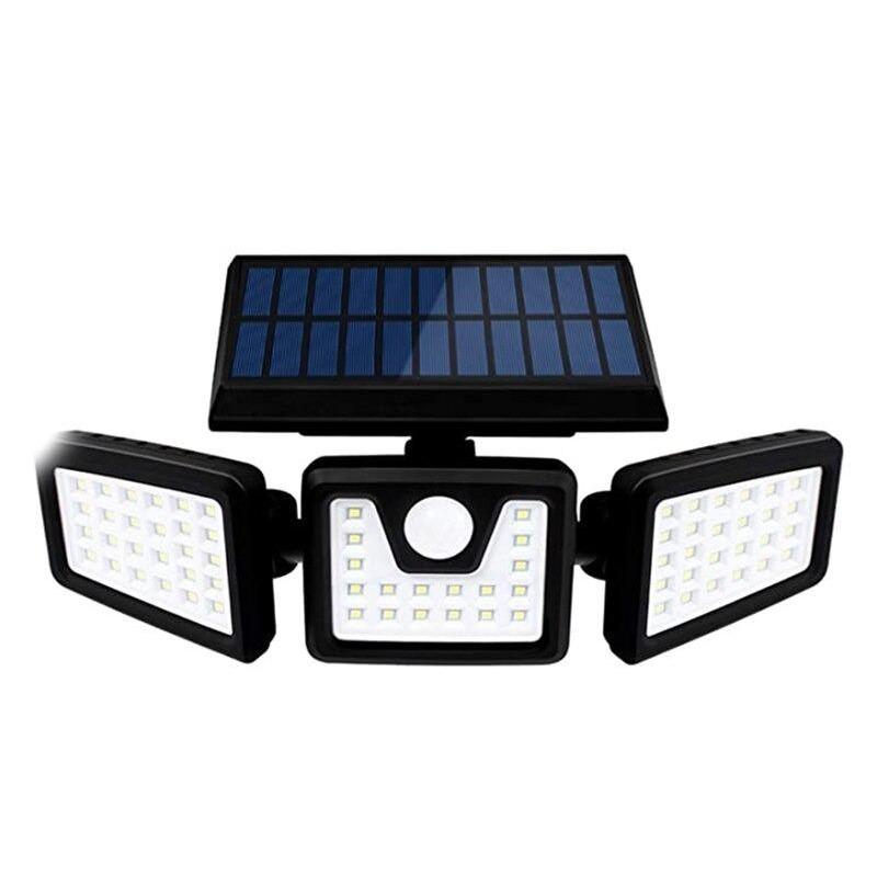 3 směrové solární led světlo FO-TA103 PIR