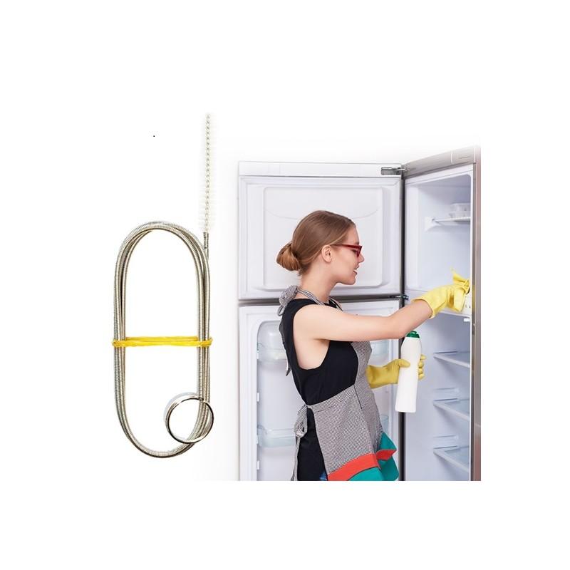 Čistící nástroj na odtokový kanálek lednice
