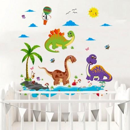 Samolepky na zeď - Dinosauři