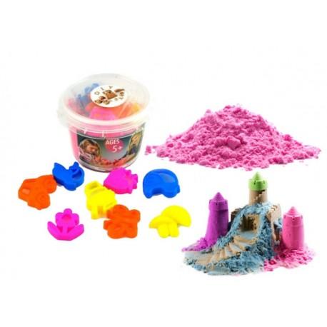 Magický tekutý písek 350g + 8 formiček