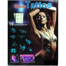 Svítící nalepovací tetování – Glow tattoo