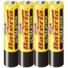 Baterie AAA/R03 4ks