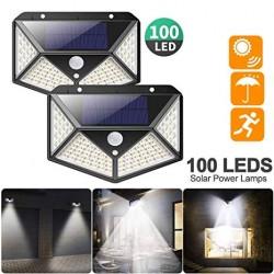 Solarní LED světlo s detekcí pohybu SH-100 - 100 LED