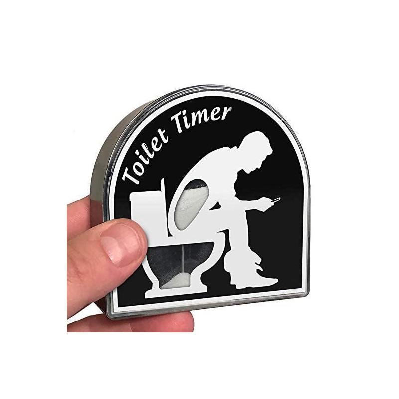 Přesýpací hodiny - záchod