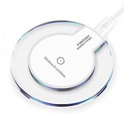Bezdrátová nabíječka QI FANTASY bílá iPhone X, 8, Samsung S 9