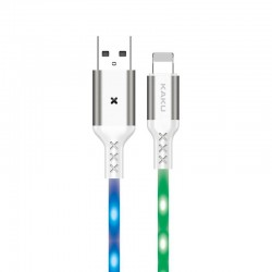 Svítící nabíjecí datový kabel KAKU Lightning (KSC-114) 3,2A