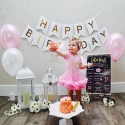 Narozeninová girlanda Happy Birthday