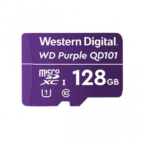 Paměťová karta WD Purple microSDXC 128GB Class 10 U1