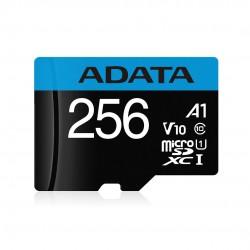 Paměťová karta ADATA MicroSDXC 256GB UHS-I 100/25MB/s + adapter