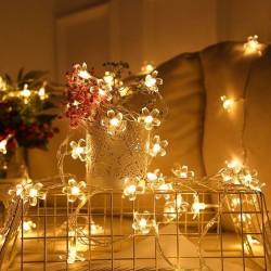 LED světelný řetěz - třešňový květ