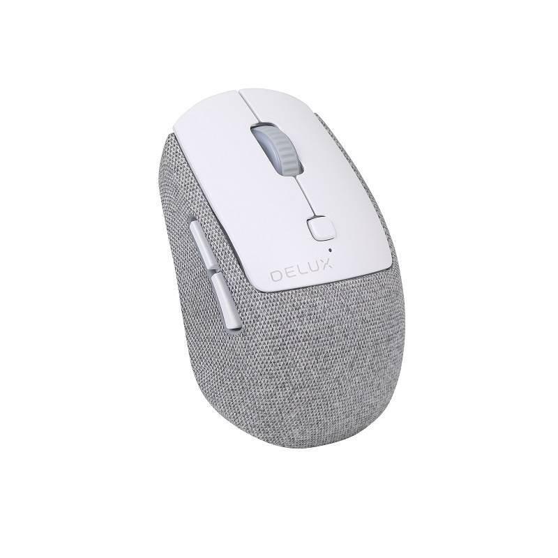 Bezdrátová tichá myš Delux M520GX 800-2400 DPI