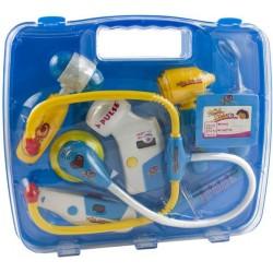 Dětský doktorský set modrý KX9181