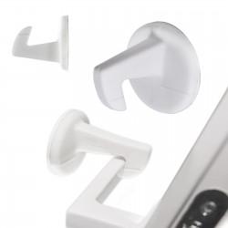 Silikonový tlumič nárazu na kliku s háčkem 1 ks